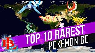 Pokemon Go: TOP 10 RAREST Pokemon and WHERE TO FIND THEM Gotta Catch Them ALL
