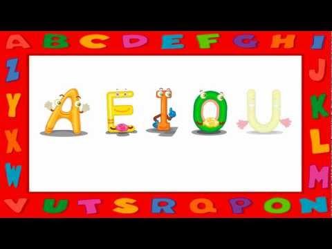 Vídeo Educativo Infantil Vogais AEIOU Timbre Fechado