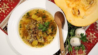 Pumpkin Soup - Ddmapour - Armenian Cuisine - Heghineh Cooking Show