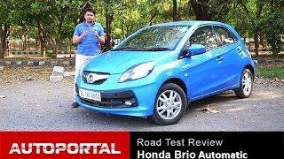 "Honda Brio Automatic Review ""Test Drive"" - AutoPortal"