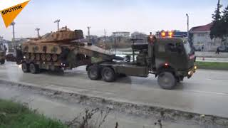 Beginning of Turkey's Military Operation in Northern Syria