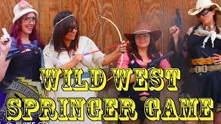 DesertFox Airsoft: Wild West Springer Game (Bandits vs Sheriffs)