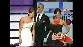 Catherine Siachoque, Miguel Varoni y Maritza Rodriguez en Billboards 2009