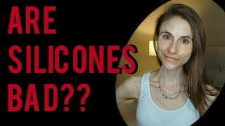 ARE SILICONES BAD? DIMETHICONE? SKIN & HAIR| Dr Dray
