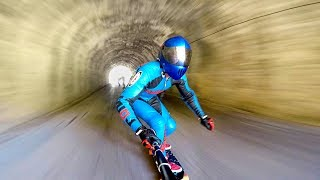 Extreme Downhill Skateboarding!