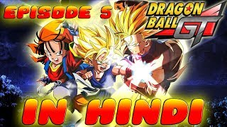 Dragon Ball GT Episode 5 Review in Hindi || Goku vs. Ledgic