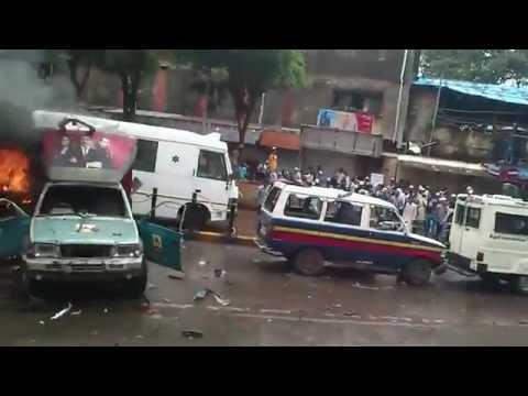 Azad Maidan Mumbai Real Riot 11th Aug 2012