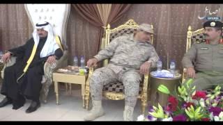 حفل منسوبي شرطة محافظة حفرالباطن لتكريم اللواء مزيد العتيبي