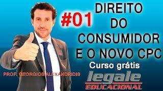 # 1- DIREITO DO CONSUMIDOR E O NOVO CPC - PROF. GEORGIOS ALEXANDRIDIS