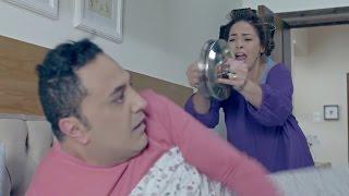 داليا البحيري تتسبب في إنهيار عصبي للفنان خالد سرحان في كواليس مسلسل يوميات زوجة مفروسة أوي