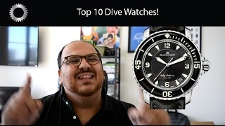 Top 10 Luxury Dive Watches - Federico Talks Watches