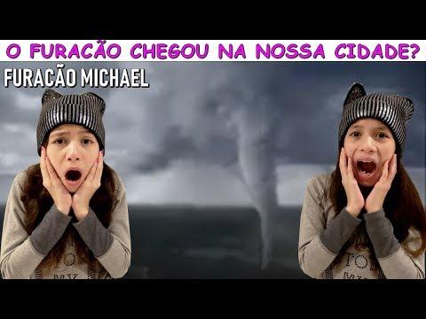 O FURACÃO CHEGOU NA NOSSA CIDADE HURRICANE MICHAEL