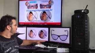 TV 3D Ativa ou Passiva, Qual o melhor 3D?