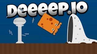 Deeeep.io - Defend the Pearl Update! - Lets Play Deeeep.io Gameplay