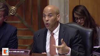 Senator Cory Booker diplomatic strategy is the way to deal with the situation in Somalia