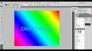 Photoshop Extra Text Effect By Defender ( wesso.018)