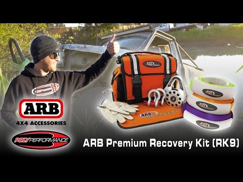 POLY PERFORMANCE // TECH TIPS - ARB PREMIUM RECOVERY KIT (RK9)
