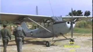 Forward Air Controller & The O-1 Bird Dog Vietnam War