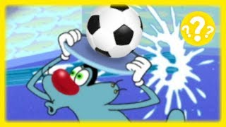 Oggy and the Cockroaches 🔍❓  SOCCER BALL ⚽ (S01E31.1) Full Episode in HD