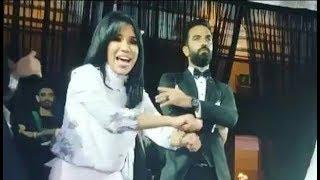 شاهد رقص هستيري للنجوم فى حفل زفاف نجمة ستار أكاديمي شيرين يحيي