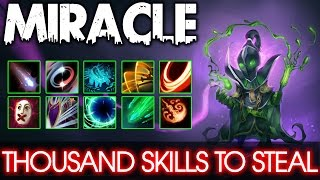 Dota 2 Miracle Rubick Middle- Thousand Skills to STEAL #2
