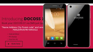 Docoss X1| ₹888 smartphone, India's cheapest phone