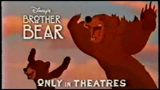 2003 - 'Brother Bear' Restaurant Tie-In