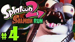 Splatoon 2 - Salmon Run PART 4 - Nintendo Switch Gameplay Walkthrough - Griller & Cohock Charge Wave