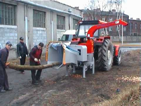 Rębak Skorpion 250R Tekanmotor wood chipper