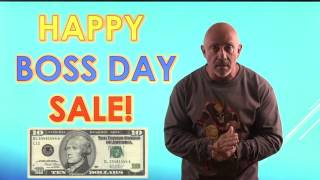 Cisco & CCNA Courses only $10 for national BOSS DAY!
