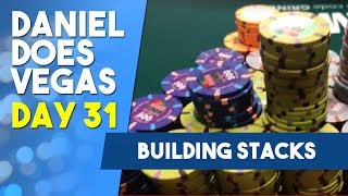 Building STACKS on STACKS in the Big Bet Mix - WSOP VLOG DAY 31