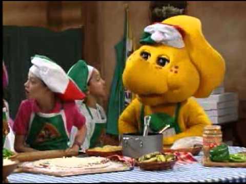 Barney Adventure Bus Pizza Song
