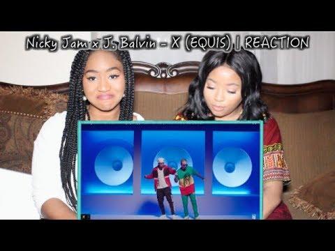 Nicky Jam x J. Balvin - X (EQUIS) | Video Oficial | Prod. Afro Bros & Jeon | REACTION