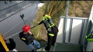 GigaSwing | Harzdrenalin | Rappbodetalsperre | längste Hängebrück der Welt