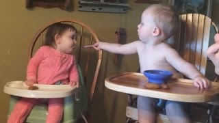 Amusing & cute BABY & TODDLER & KID videos #11 - Funny and cute compilation - Watch and laugh!