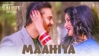 Mahiya full Video Song Panjabi song ।।। mannat  Noor।।। new Panjabi full Video Song 2018
