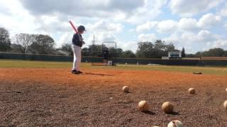 Batting Practice With The 2015 Mako