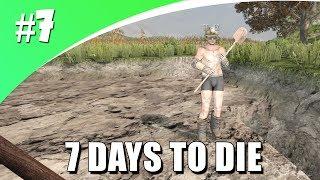 EEN GAT GRAVEN VOOR NIEUWE BASIS! (7 Days To Die #7)