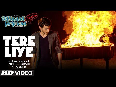 Tere Liye Video Song | Indeep Bakshi | Dilliwaali Zaalim Girlfriend | Divyendu Sharma, Prachi Mishra
