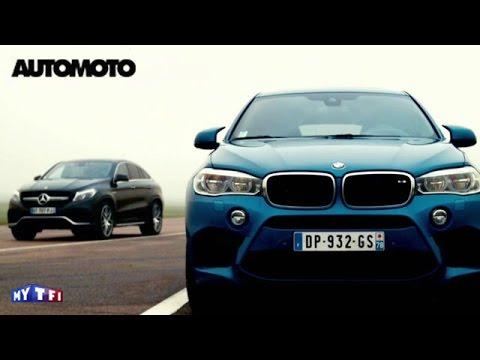 Defi BMW X6 M vs Mercedes GLE Coupé 63 AMG. Quelle est la plus rapide