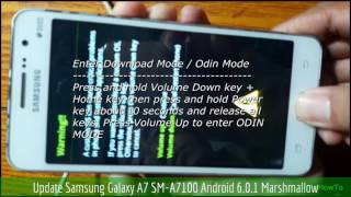 Update Samsung Galaxy A7 SM-A7100 Android 6.0.1 Marshmallow
