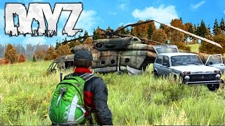DayZ Standalone – HELICOPTER LOOT!! DayZ .61 PVP And Loot! (DayZ Standlone Gameplay)