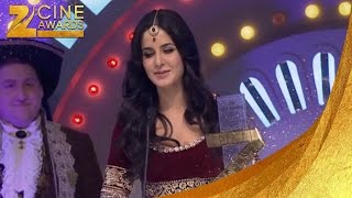 Zee Cine Awards 2012 International Icon Female Katrina Kaif
