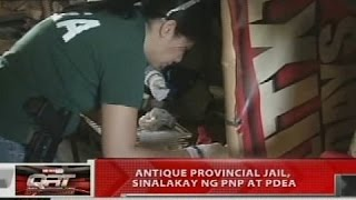 QRT: Antique Provincial Jail, sinalakay ng PNP at PDEA