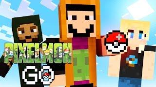 WHO'S THAT PIXELMON!? | Pixelmon Go (Pokemon in Minecraft) #1