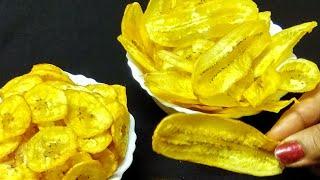 झटपट बनाये केले के कुरकुरे चिप्स वो भी 2 तरीकों से | Crispy Raw Banana Chips | Banana Chips .