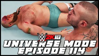 WWE 2K18 | Universe Mode - 'CELEBRATING TOO EARLY!' | #114