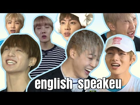 BTS - ENGLISH SPEAKEU (Try Not To Laugh/Smile Challenge)