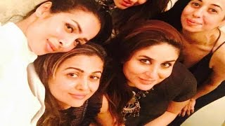 Pregnant Kareena Kapoor Party With Malaika Arora Khan And Amrita Arora