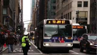 Post Hurricane Sandy : Emergency Shuttle Bus Operation To And From Brooklyn [ Part I ]